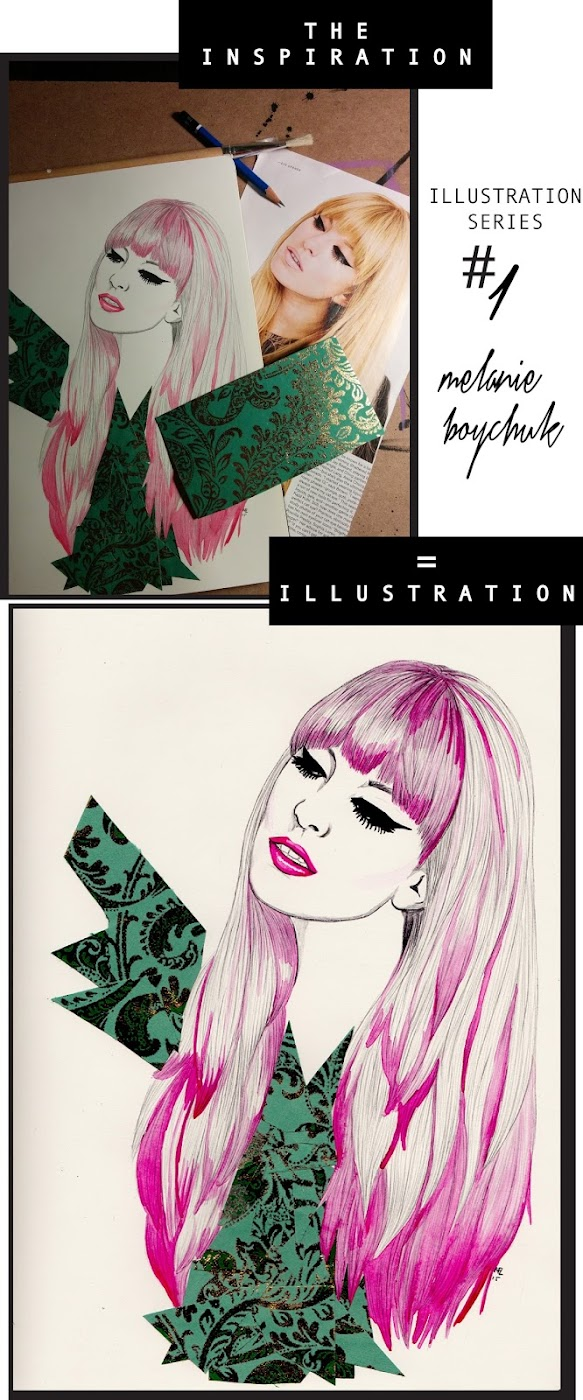 [ INSPIRATION + ILLUSTRATION ] series by MELANIE BOYCHUK