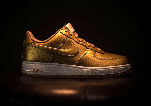 Nike Air Force One Metallic Gold Rio 2016 price
