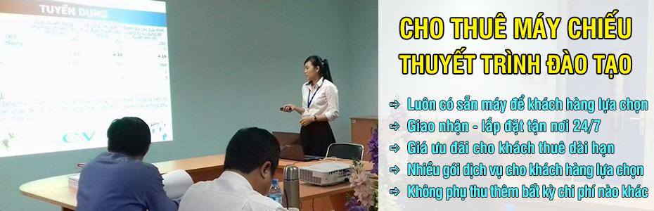 Cho thuê máy chiếu hội họp văn phòng giá rẻ tại TpHCM