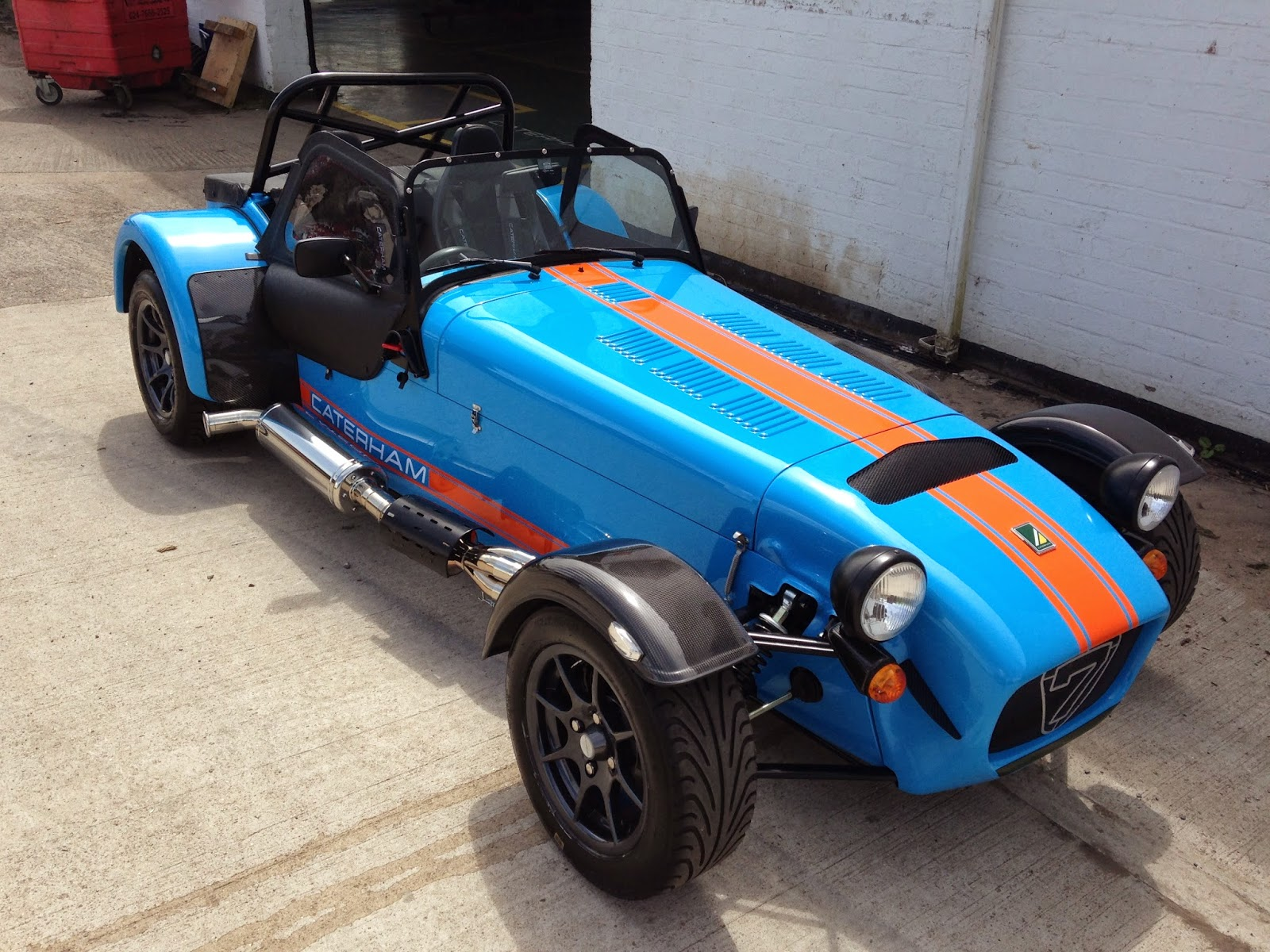 My Caterham R500 front view