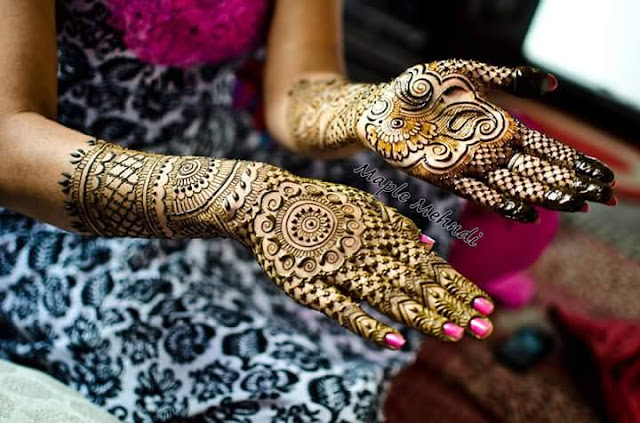 Bridal Mehandi Design 9