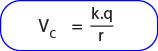Rumus Potensial listrik di luar bola konduktor bermuatan