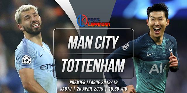 Prediksi Bola Manchester City vs Tottenham Hotspur Liga Inggris