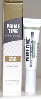 prime time urban nature de bareminerals test swatch