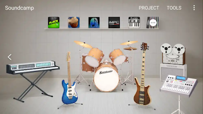 تحميل أخر إصدار تطبيق Soundcamp للأندرويد للتسجيل الصوتي وصناعة الموسيقى