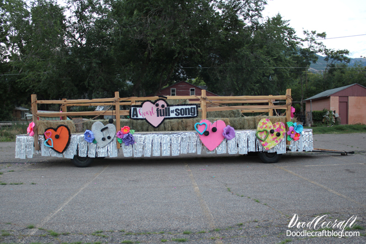 How To Build A Pioneer Day Parade Float