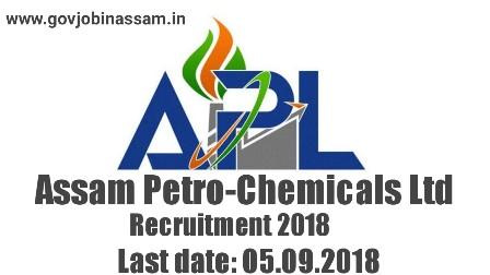 Assam Petro-Chemicals Ltd Recruitment 2018,govjobinassam