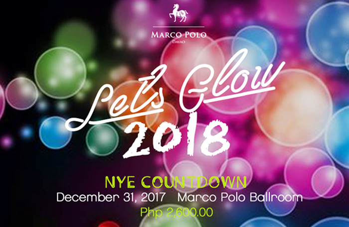 Let's Glow 2018: Marco Polo Davao New Year's Eve Countdown