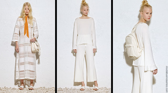 Moda 2018 ropa de mujer. Vestidos, pantalones, túnicas, blusas moda 2018.