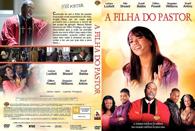 Capa DVD A Filha do Pastor