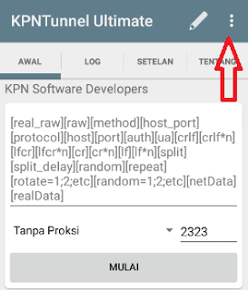 Config KPN Tunnel Telkomsel Terbaru 2017
