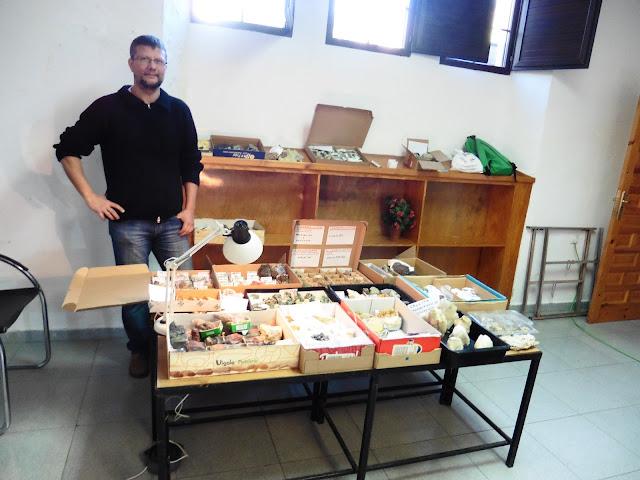 XXII Mesa de Minerales Monteluz. 10 de diciembre de 2016. El Padul P1040008