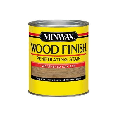 Minwax weathered oak stain