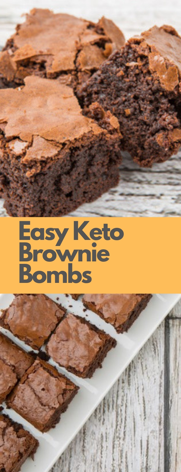 Easy Keto Brownie Bombs #EASY #KETORECIPES