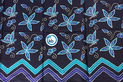 Seragam batik tulis berlogo jakarta