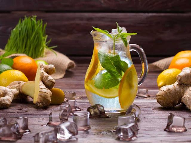 напиток из имбиря и лимона рецепт
