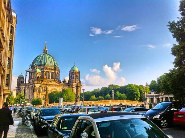 Berlin Cathedral Church (Oberpfarr- und Domkirche von Berlin). Berliner Dom