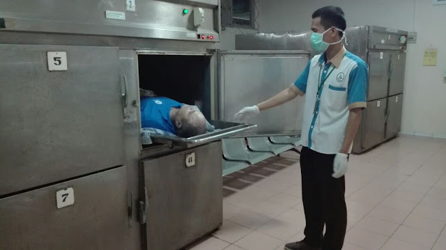 Diduga Sakit Satu Engineering TMC BPBD Asal Maldova Meninggal