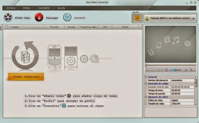 Download Any Video Converter 5.5.9
