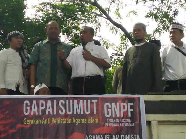 Umat Islam di Sumut Minta PDIP Di Bubarkan