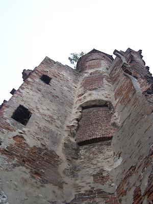Overblijfselen van Kasteel Goudenstein in Haaften