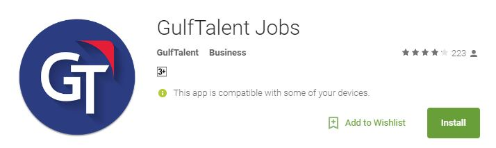 Top 10 Android Apps For Jobs in Gulf Middle East jugaad - leading job search sites