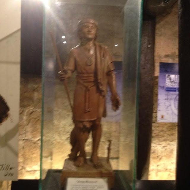 Ang Bisaya sculpture at the Museo Parian sa Sugbo