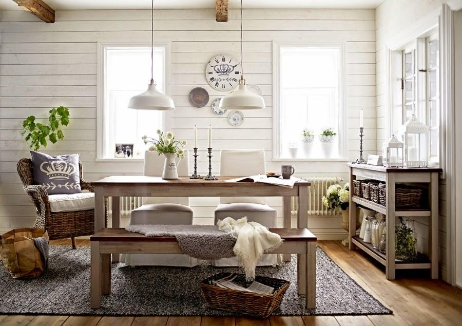 Świeże, przytulne wnętrze w bieli i szarości, wystrój wnętrz, wnętrza, urządzanie domu, dekoracje wnętrz, aranżacja wnętrz, inspiracje wnętrz,interior design , dom i wnętrze, aranżacja mieszkania, modne wnętrza, IKEA, białe wnętrza, szarości, szary, styl skandynawski, scandinavian style, stół, fotel wiklinowy, fotel ratanowy