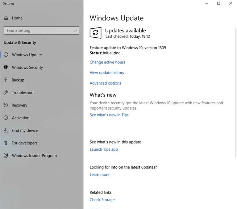 Cara Mudah Download Dan Instal Windows 10 October 2018 Update