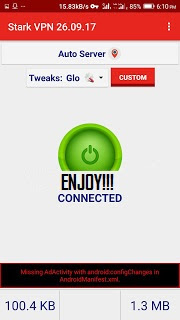 Glo 0.0k Free Browsing Cheat For October  2018
