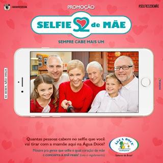 Concurso Cultural Selfie Coração de Mãe