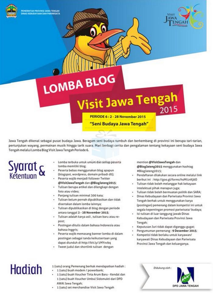 Kontes Blog Seni Budaya Jawa Tengah