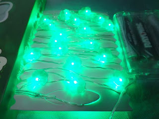 LEORX Shamrock String Lights for St Patrick's Day - 11.5 Ft, 35 Lights