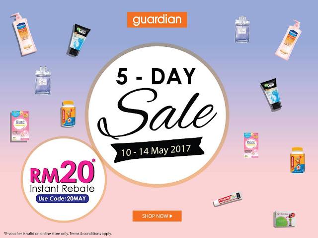 Guardian Malaysia E-Voucher Code Discount Sale Promo