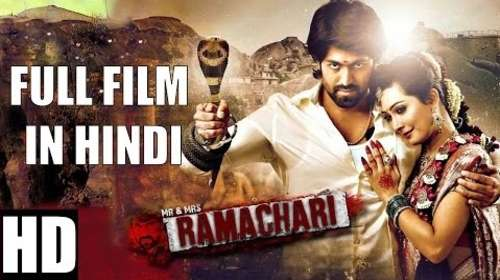Poster Of Mr & Mrs Ramachari 2016 Hindi Dubbed 400MB HDRip 480p Free Download Watch Online downloadhub.net