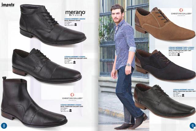 calzado casual caballeros