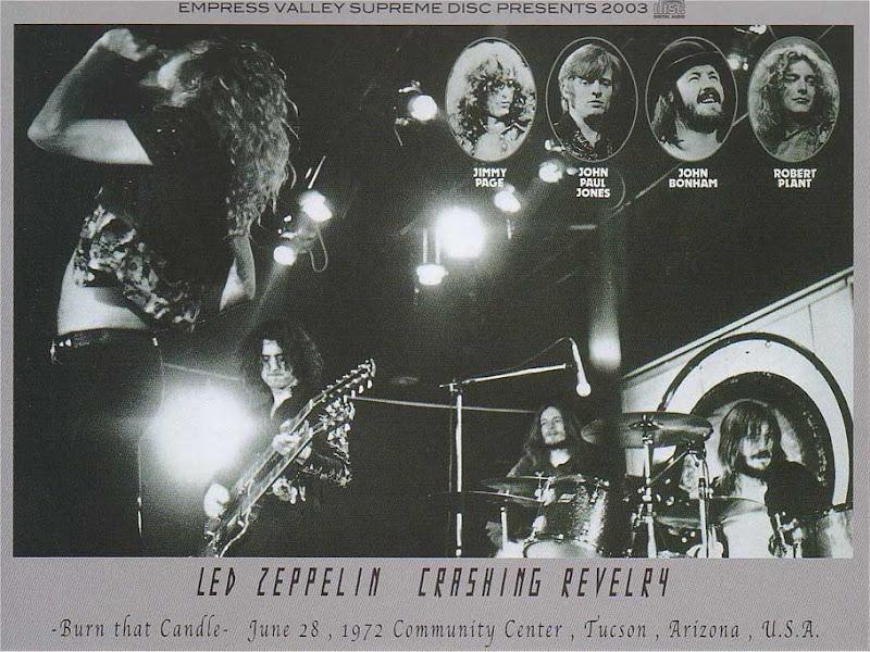 Led Zeppelin 1972 06 28 Tucson Guitars101 Guitar