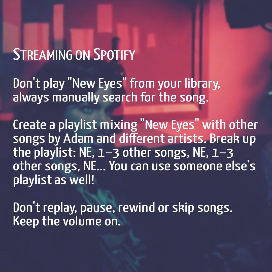 Tips For Streaming Adam Lambert's New Official Single