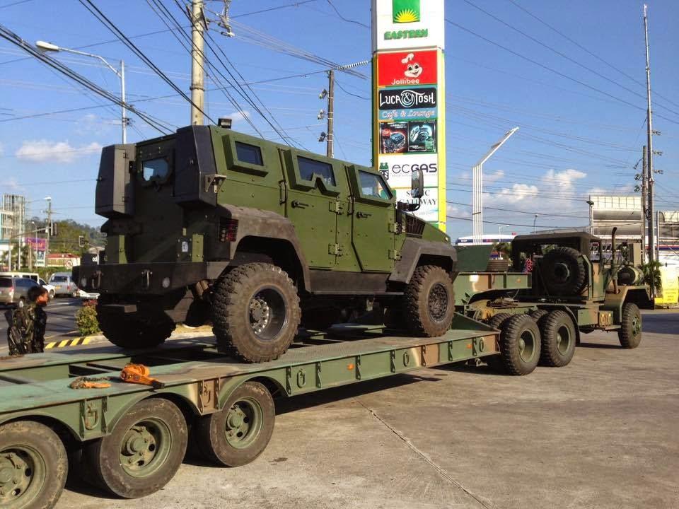 philippines  immediately  acquiring mrap vehicles   afp  pnp