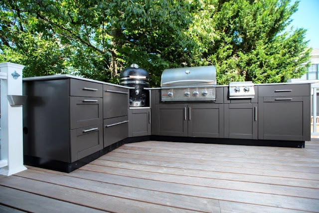 Danver Cabinets Outdoor Kitchen