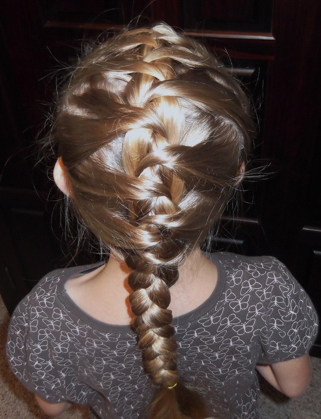 Stupendous Pretty Hair Is Fun Girls Hairstyle Tutorials Little Girls Short Hairstyles For Black Women Fulllsitofus