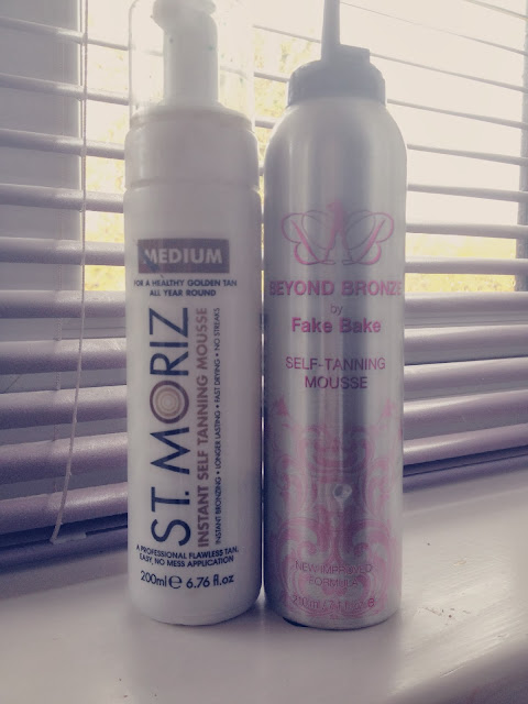 St Moriz vs Beyond Bronze by Fake Bake Tan