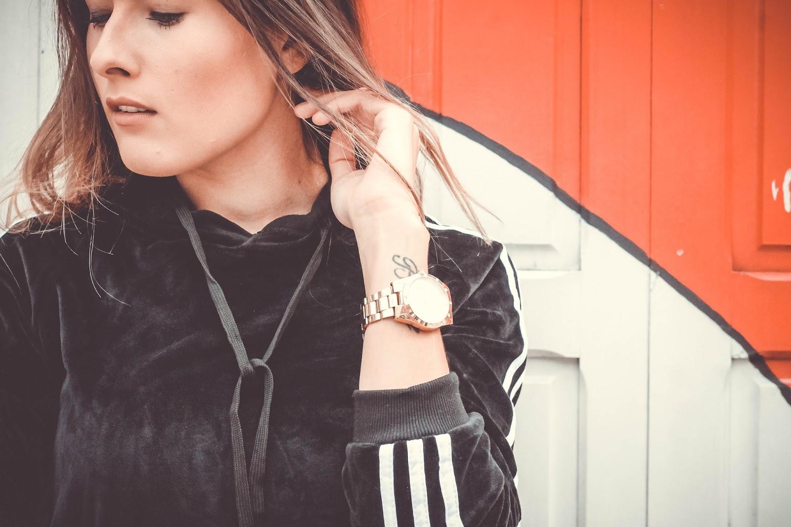 Look Conjunto de veludo - Ally Arruda