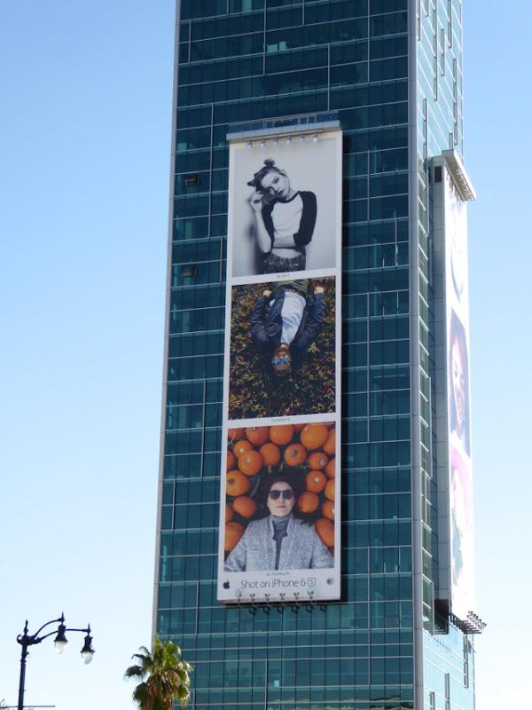 Giant Shot on iPhone 6s portraits billboard