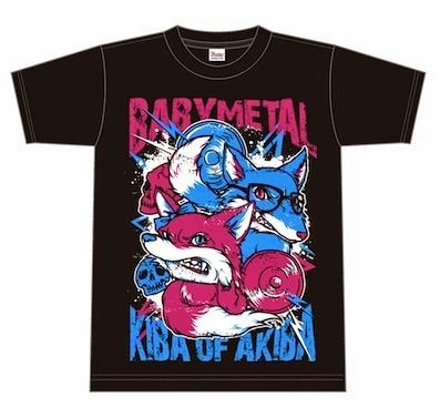 34222fcf0 Let's take a look at the growing number of Babymetal T-shirts since their  debut.