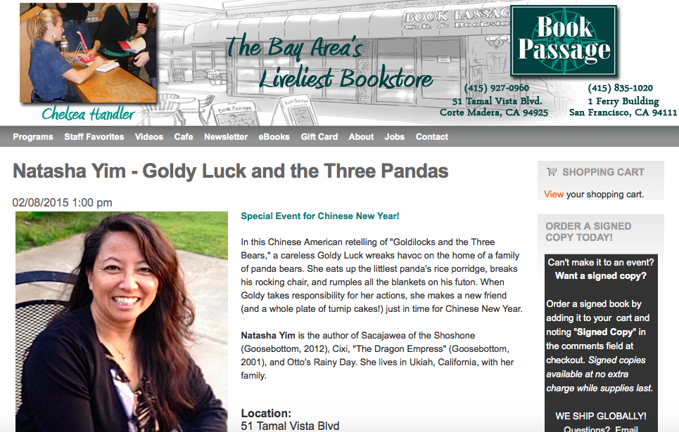 http://bookpassage.com/event/natasha-yim-goldy-luck-and-three-pandas