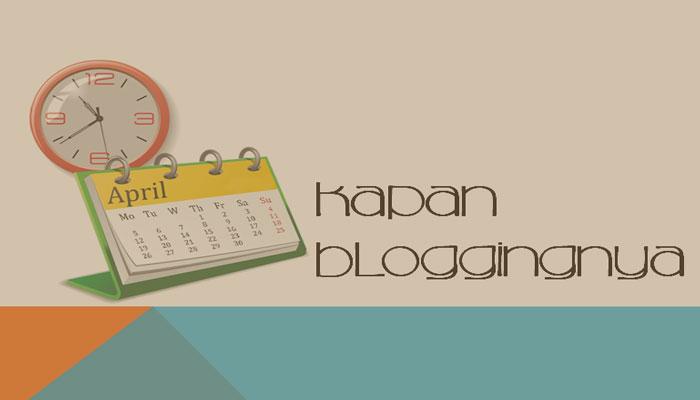 Kegiatan Offline Tambah Banyak Blogging Tambah Jarang Update