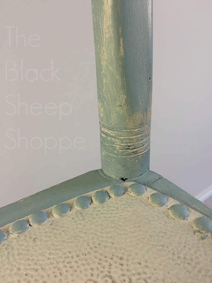 Duck egg blue Old Ochre Upholstery tacks