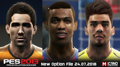PES 2013 Next Season Patch 2019 Option File 24/07/2018 Season 2018/2019