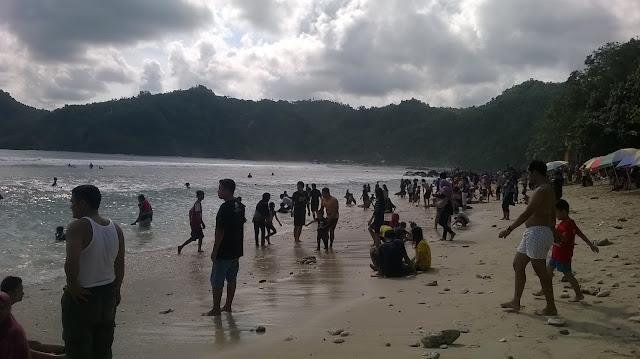Pantai Wedi Ombo Girisubo Wonosari Gunungkidul wisata travel mbloogers trip